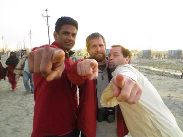 Eric Hematisfingerpoint takes India