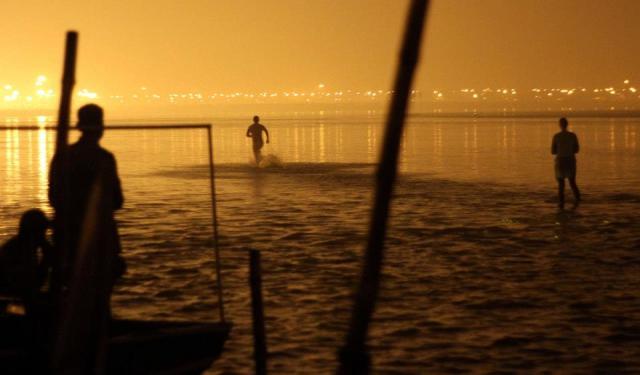 sprinting Ganga style