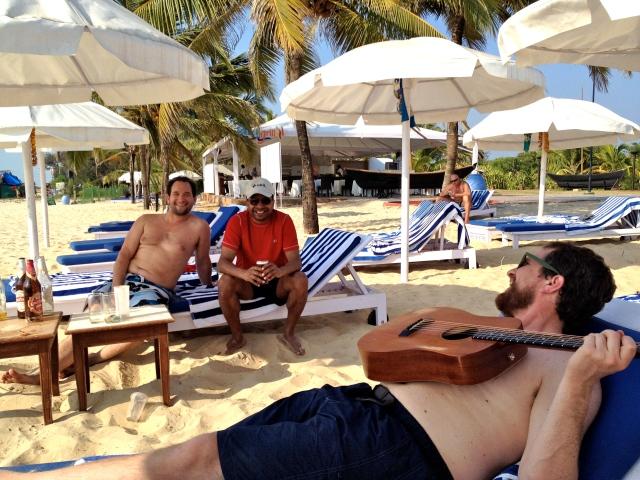 guitarties on the playa